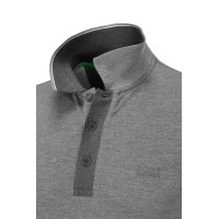 Polo Paule Boss Green popielaty