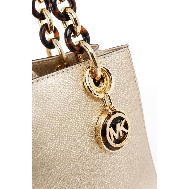 Cynthia satchel Michael Kors gold