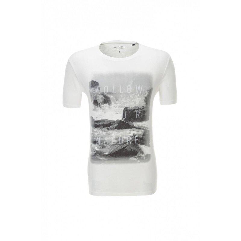 T-shirt Marc O' Polo kremowy