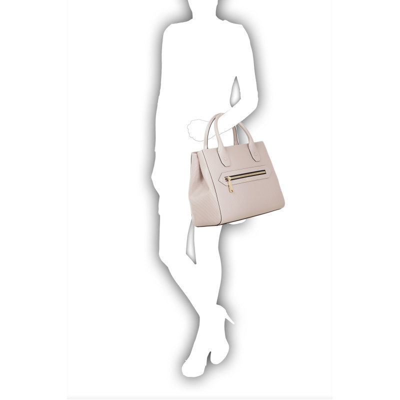 Shopperka Armani Collezioni popielaty