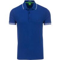 Polo Paule Boss Green niebieski