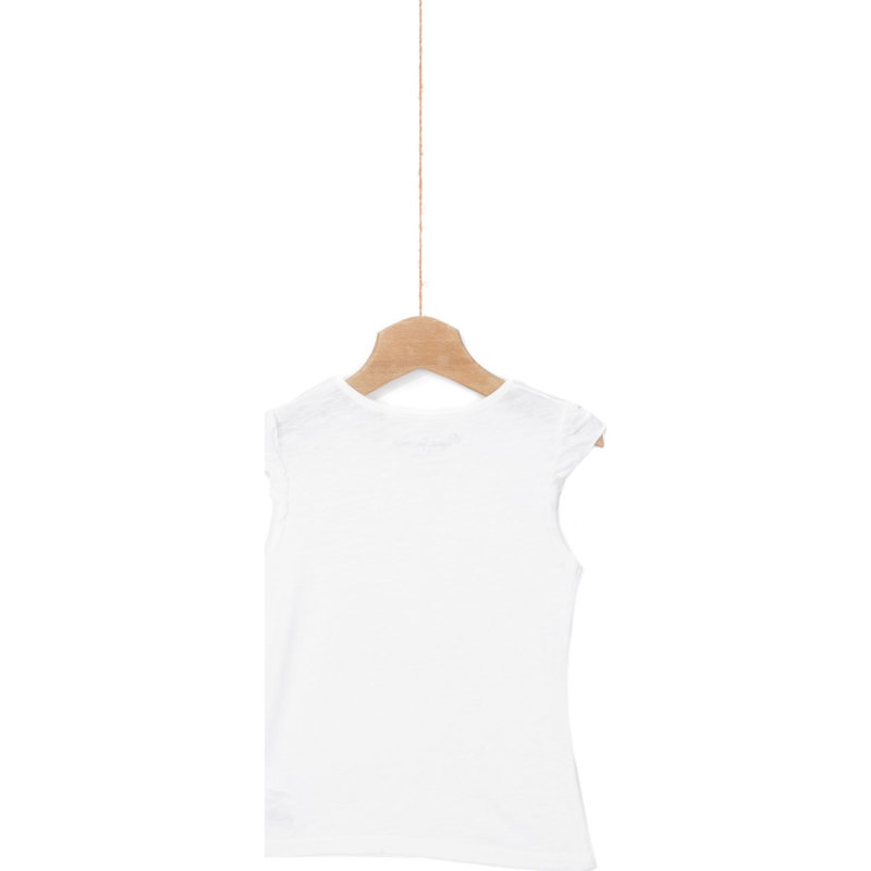 T-shirt Holia Pepe Jeans London kremowy