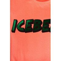 T-shirt Iceberg pomarańczowy