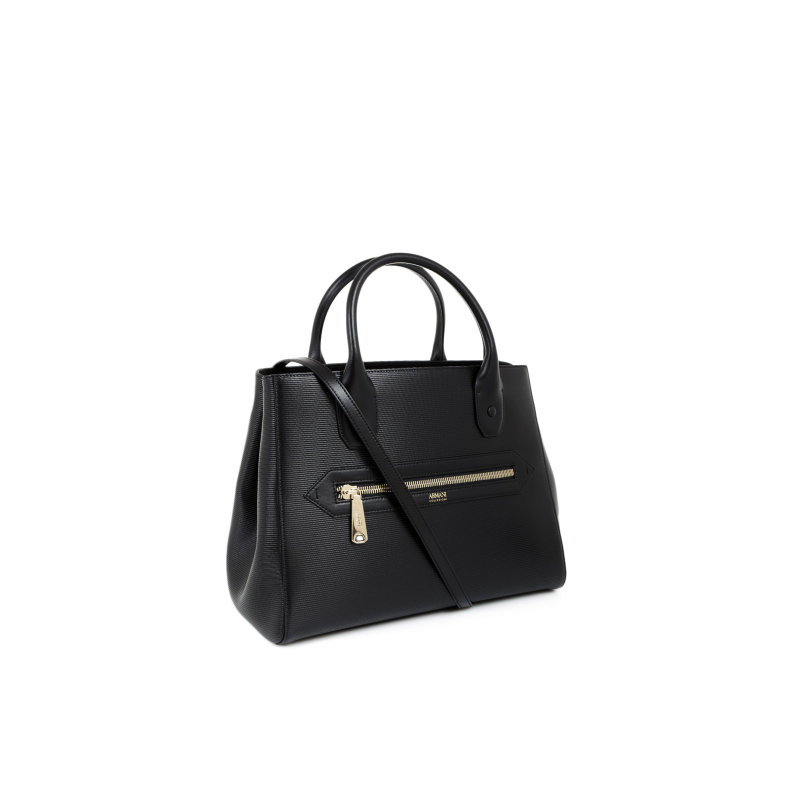 Shopper bag Armani Collezioni black