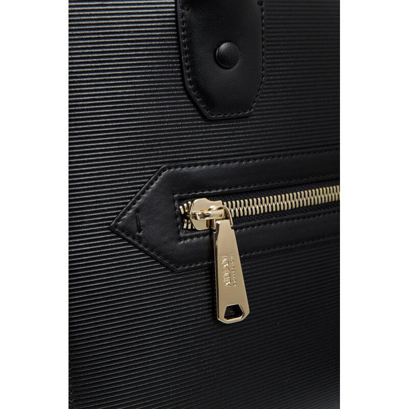 Shopper bag Armani Collezioni black