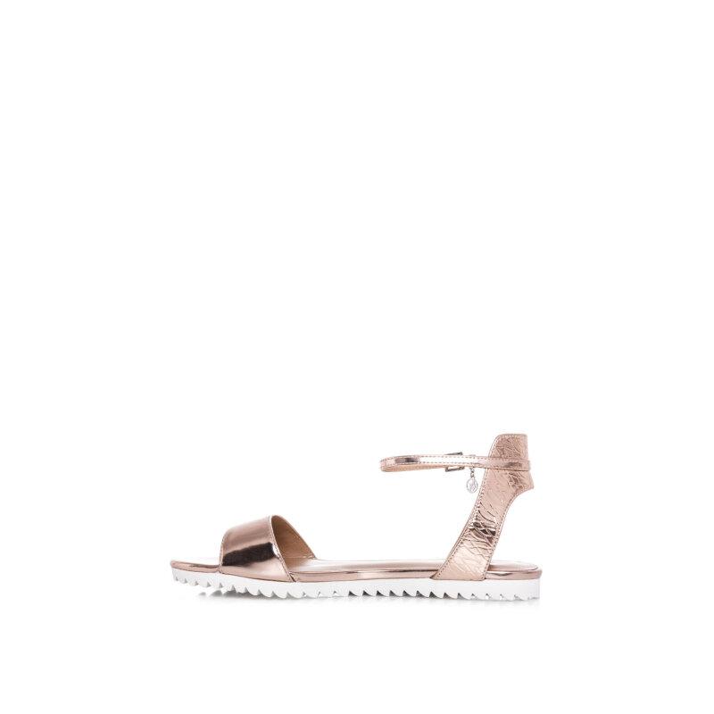 Sandały Armani Jeans złoty
