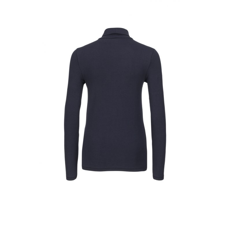 Janet Polo neck Tommy Hilfiger navy blue