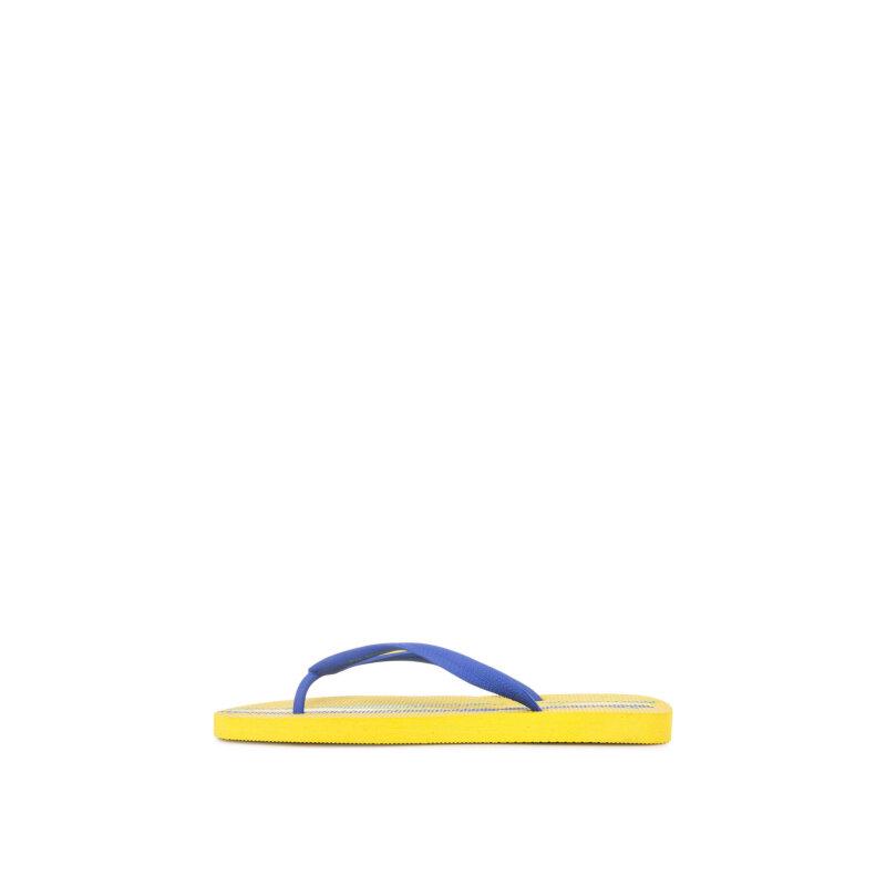 Japonki EA7 żółty