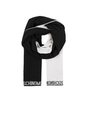 Moschino Reversible shawl