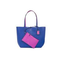 Dwustronna Shopperka Olivia Lauren Ralph Lauren niebieski
