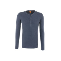Topsider Longsleeve Boss Orange navy blue