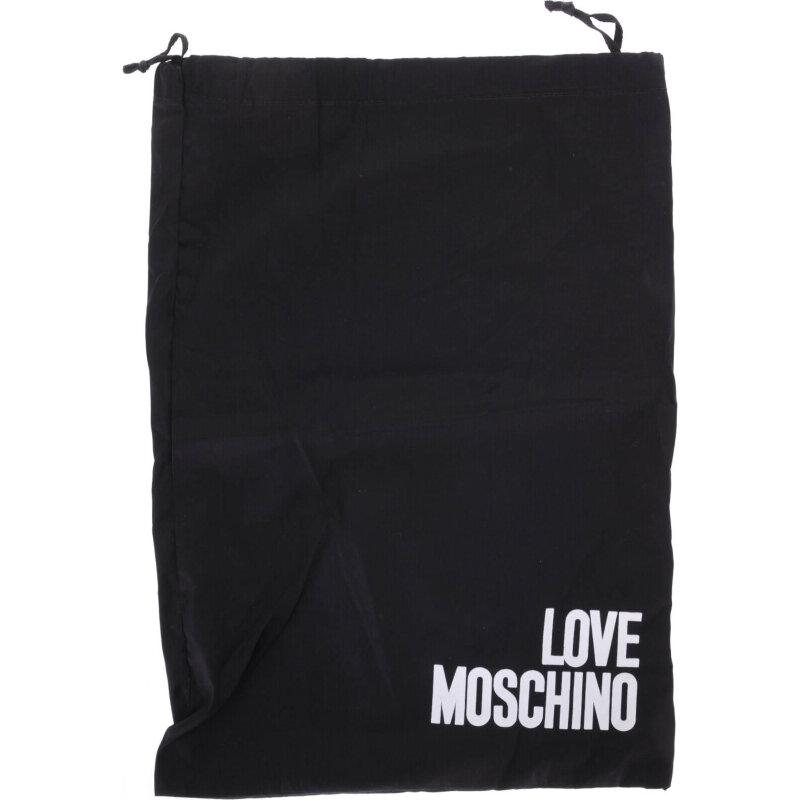 Baleriny Love Moschino granatowy