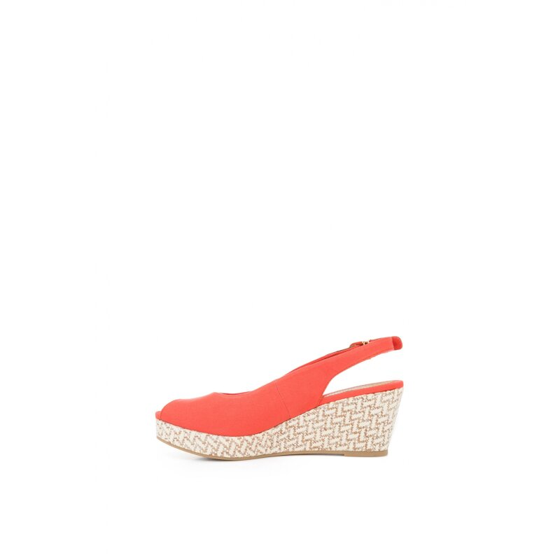 Elba 17D wedges Tommy Hilfiger red