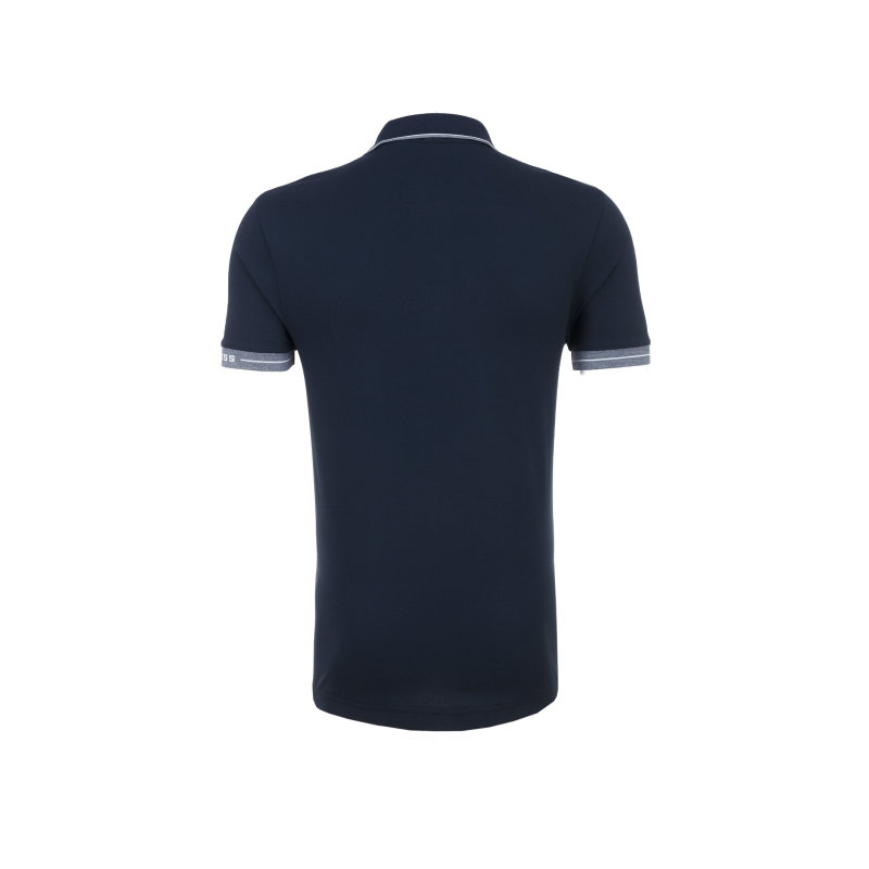 Pauleo Polo Boss Green navy blue