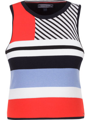 Tommy Hilfiger Bluzka Pilaux Graphic | Slim Fit