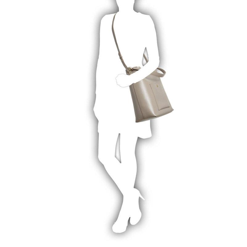 Hobo Pocket Lauren Ralph Lauren beżowy