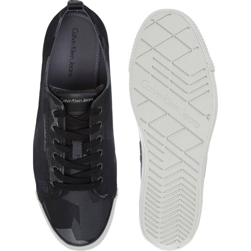 Tenisówki Arnie Camouflage Calvin Klein Jeans czarny