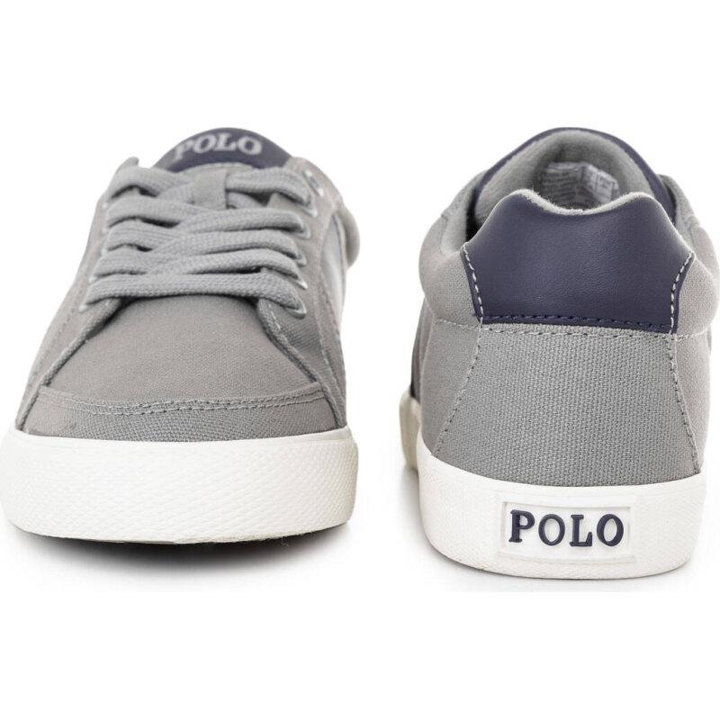 Tenisówki Hugh-Ne Polo Ralph Lauren szary