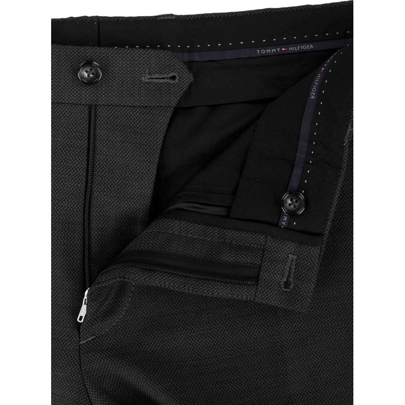 Spodnie WLL STSFKS Tommy Hilfiger Tailored grafitowy