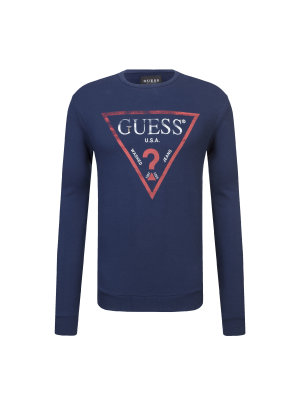 Guess Jeans Bluza CN LS Clear Fleece