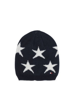 Tommy Hilfiger Czapka Star Mini Long Beanie