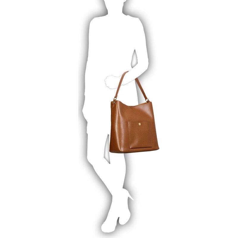 Hobo Pocket Lauren Ralph Lauren brązowy