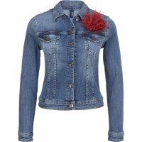 Kurtka jeansowa Rider Liu Jo niebieski