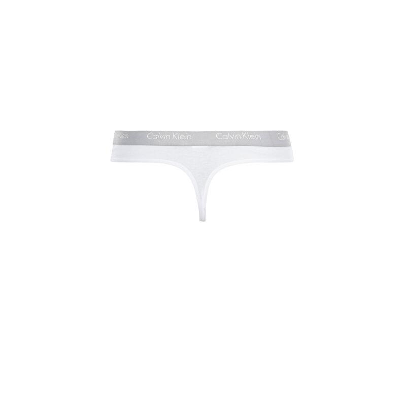 Stringi 2-pack Calvin Klein Underwear biały