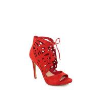 Sandały Anny Guess czerwony