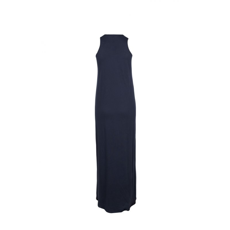 Maxi dress Tommy Hilfiger navy blue