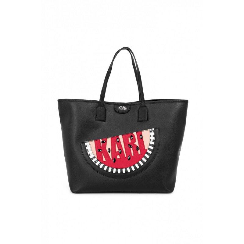 Shopperka Karl Lagerfeld czarny