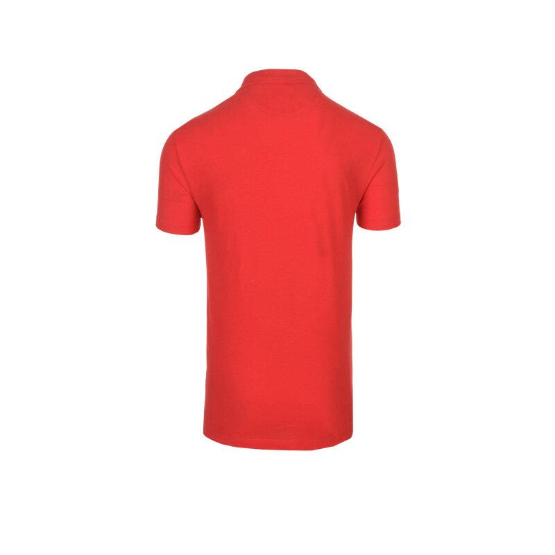 Polo Trussardi Jeans czerwony