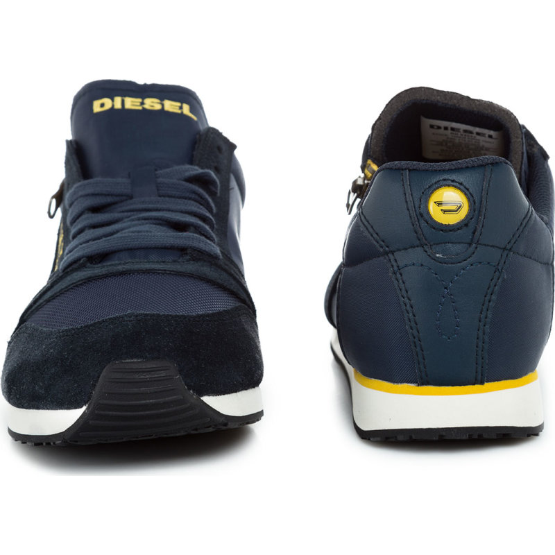 Sneakersy Slocker S Diesel granatowy