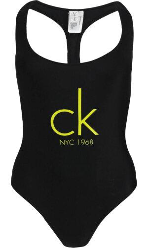 Calvin Klein Swimwear Strój kąpielowy CHEEKY RACER