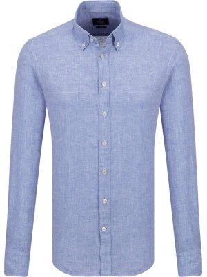 Hackett London Lniana koszula | Slim Fit