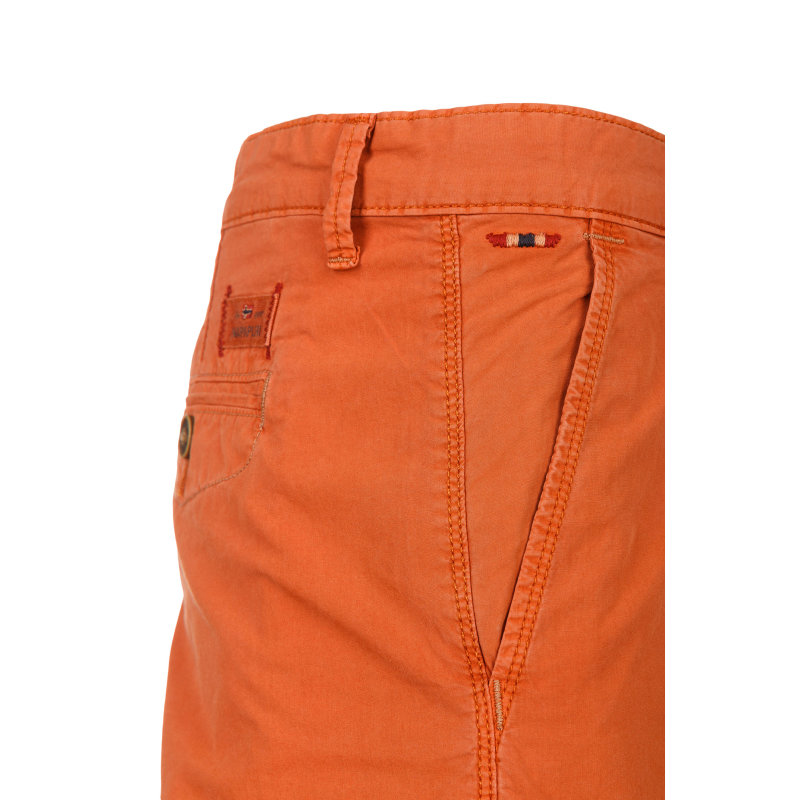 Nayerou popeline shorts Napapijri orange