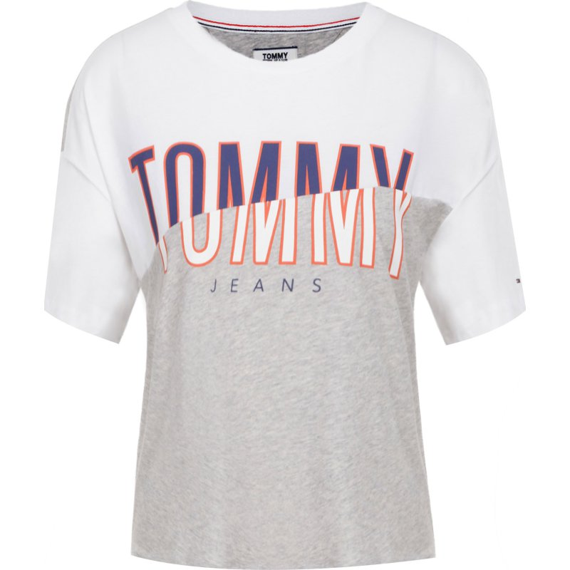 What Would Tommy Do? Cosa Sarebbe Tommy Fare? Ash Grey T-shirt Ash T-shirt Grigia rMt7M