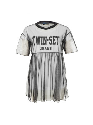 Twin-Set Jeans 2in1 Blouse