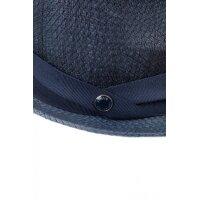 Bowler hat Armani Collezioni navy blue