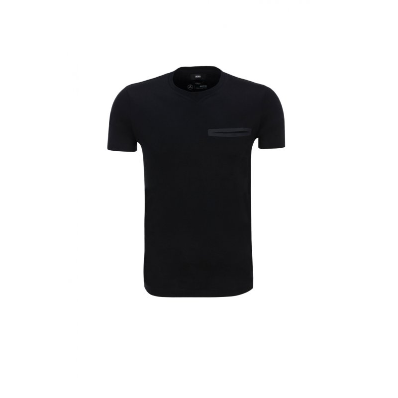 T-shirt Tessler 11 by Boss for Mercedes Benz Boss czarny