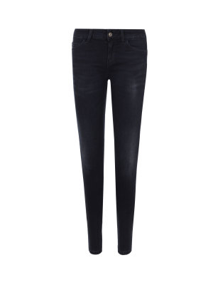Liu Jo Shiny Bottom Up Jeans