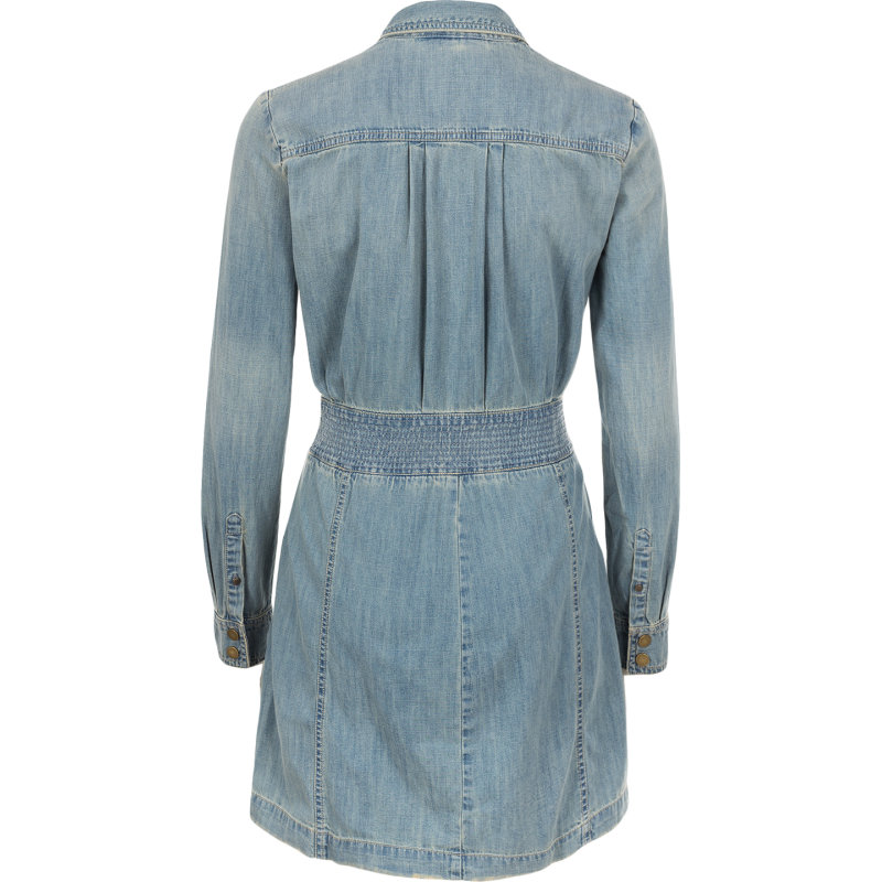 Sukienka Guess Jeans niebieski