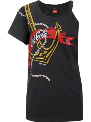 Pinko Capperi Coca-Cola blouse
