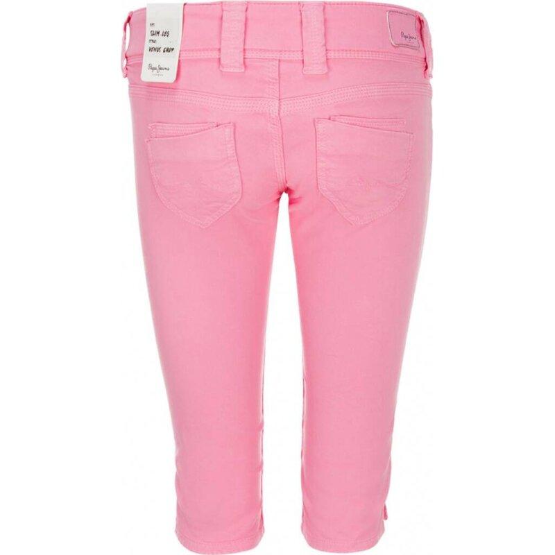 Szorty Venus Crop Pepe Jeans London różowy
