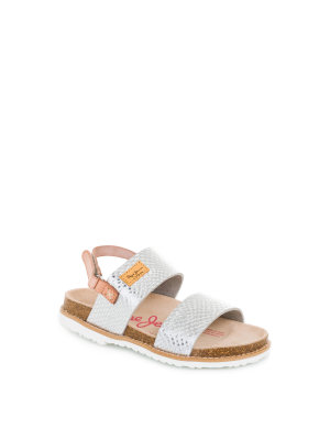 Pepe Jeans London MiniBio Metal sandals
