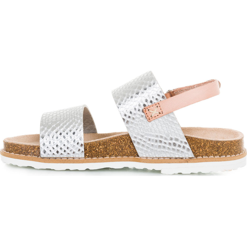 MiniBio Metal sandals Pepe Jeans London silver