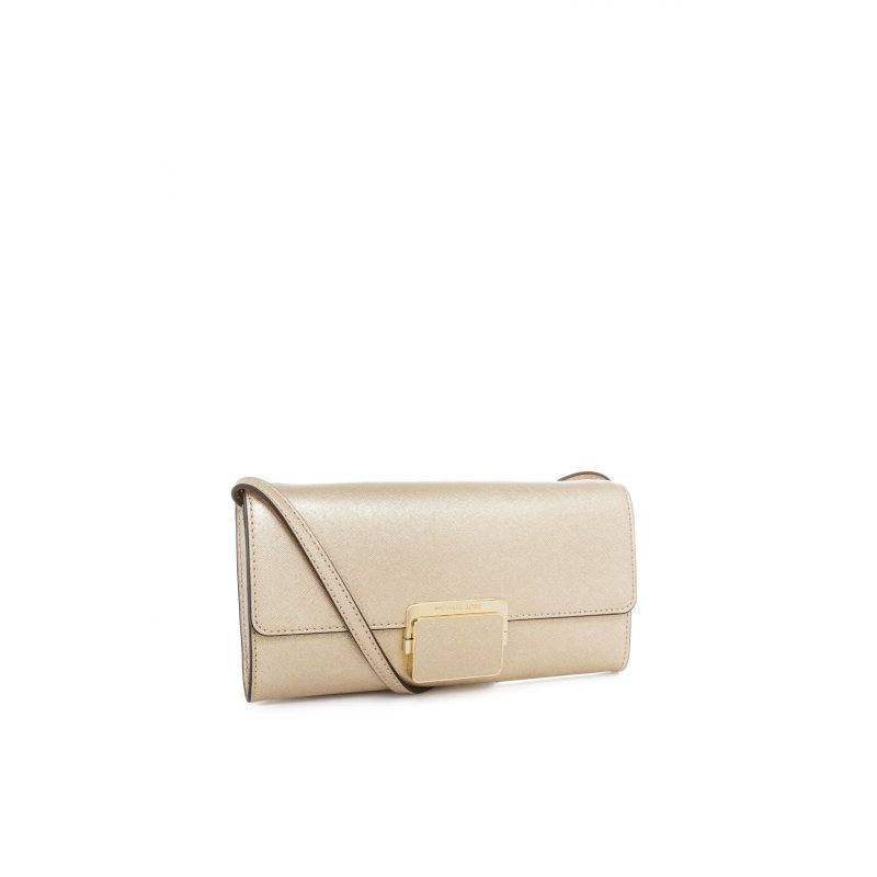 Cynthia clutch Michael Kors gold