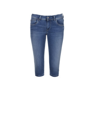 Pepe Jeans London Jeansy Saturn Crop