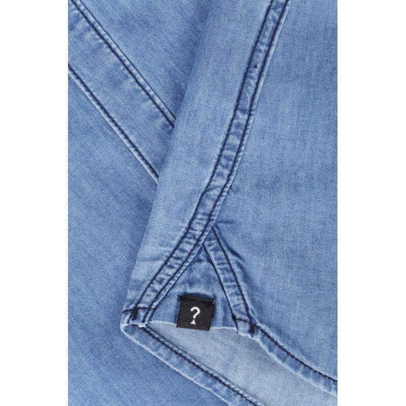 Koszula Donnie Guess Jeans niebieski