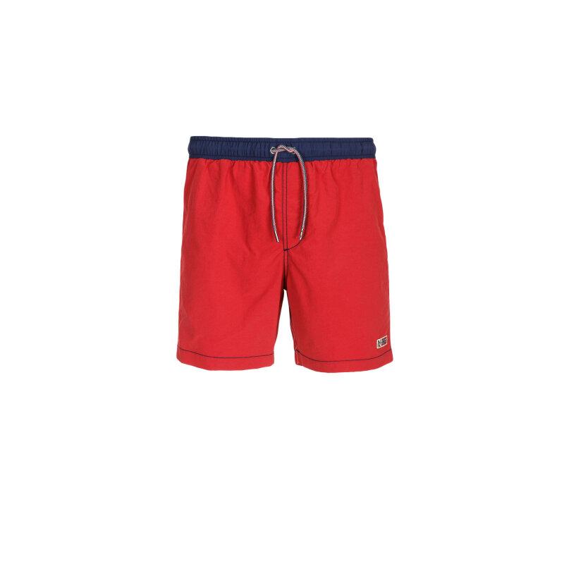 Szorty Kąpielowe Ventura Napapijri czerwony